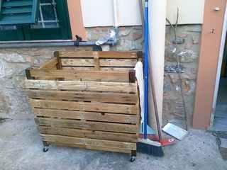 Sito di antonello lisi fai da te porta legna da esterno for Porta legna da esterno
